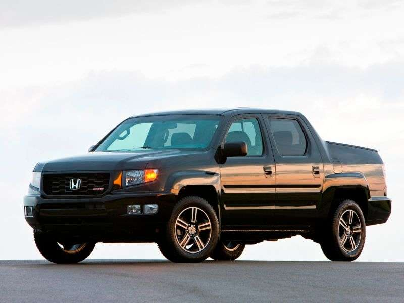 2014 Honda Ridgeline Returns with New Range-topping Model