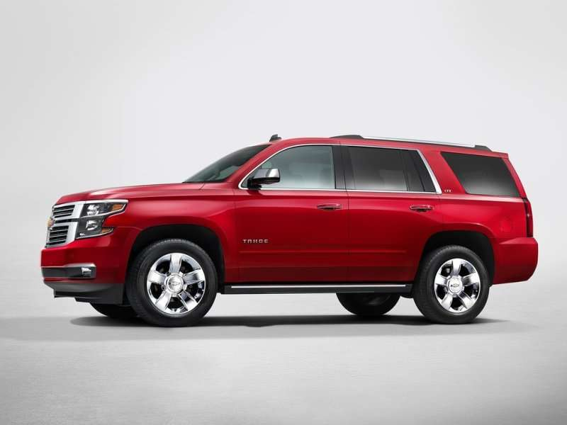 2015 Chevy Tahoe and Suburban Debut in New York