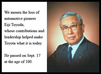 Eiji Toyoda Passes Away At 100 Years Old