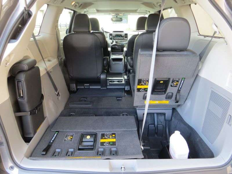 2013 Toyota Sienna SE Review: Comfort And Cargo
