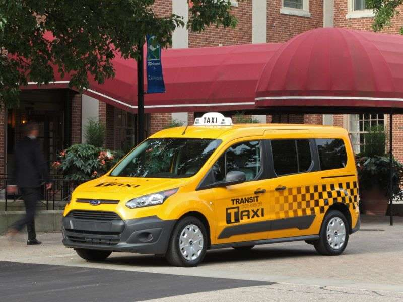 Ford Shows Off The 2014 Transit Connect Taxi