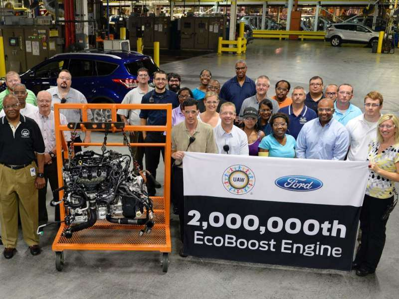 Ford Builds Their Two-Millionth EcoBoost Engine