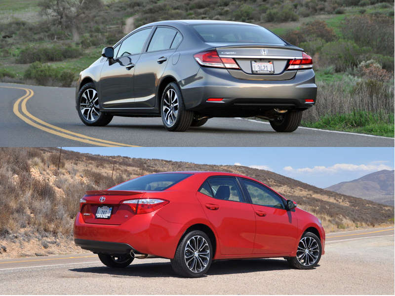 Back 2 Back Comparison: Honda Civic vs. Toyota Corolla | Autobytel.com