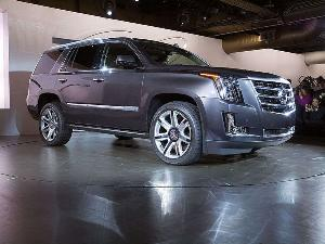 Land Yacht, Now with More Shine: 2015 Cadillac Escalade Unveiled in New York City