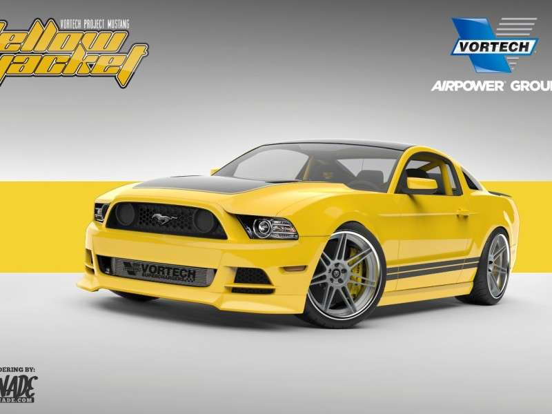 Ford Mustang Gets Stung By A Yellow Jacket