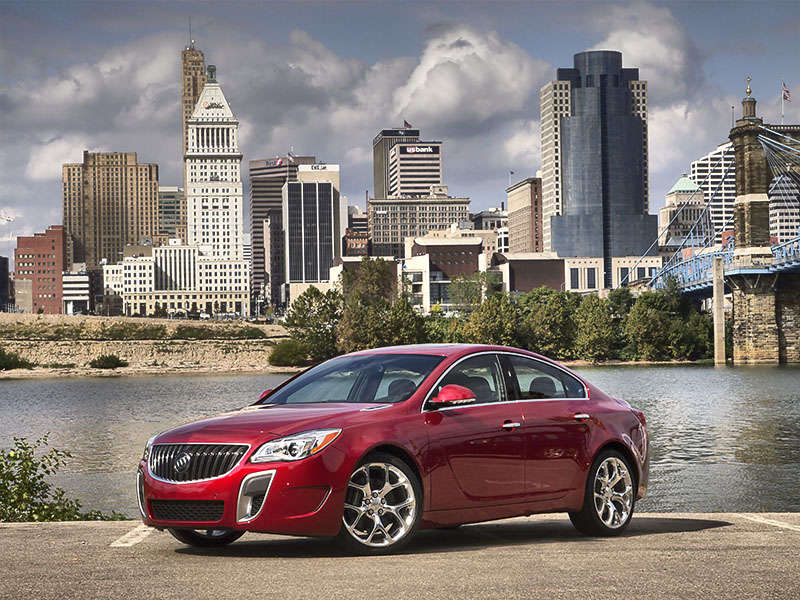 The 2014 Buick Regal GS in Pictures