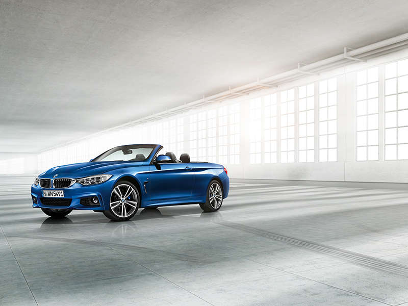 2014 BMW 4-Series Convertible Drops Its Top
