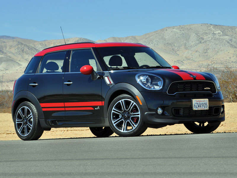 2014 mini cooper countryman john cooper works quick spin. Black Bedroom Furniture Sets. Home Design Ideas