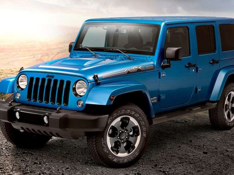 Stone Cold Thriller: Meet the 2014 Jeep Wrangler Polar Edition