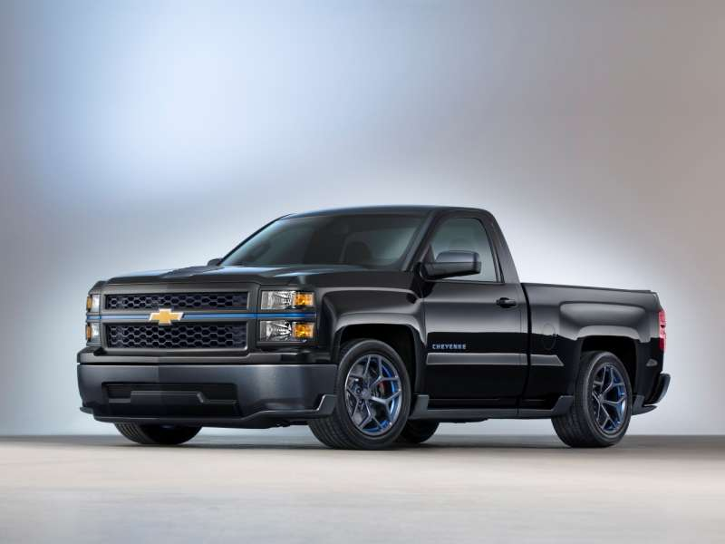 Lightweight 2014 Chevy Silverado Performance Truck to Debut at SEMA