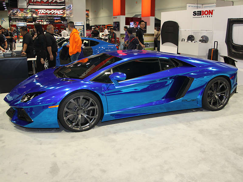 top custom paint jobs at sema 2013