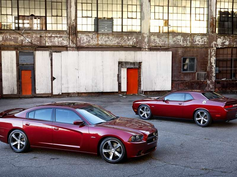 2014 Dodge Charger and Challenger Celebrate 100 Years of Dodge