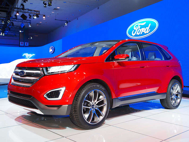 Ford Edge Concept Preview: 2013 Los Angeles Auto Show