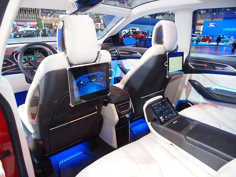 Interior Design & 2016 Ford Edge Road Test u0026 Review | Autobytel.com markmcfarlin.com