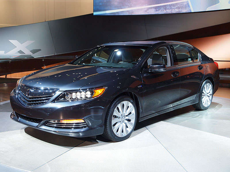 2014 Acura RLX Sport Hybrid SH-AWD Preview: 2013 Los Angeles Auto Show