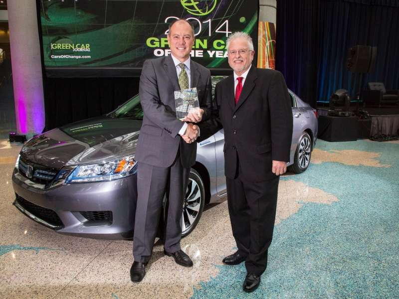 2014 Honda Accord Grabs Green Car of the Year Award