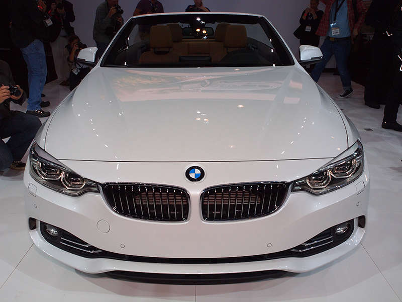 New 2014 BMW 4 Series Convertible: Styling And Design