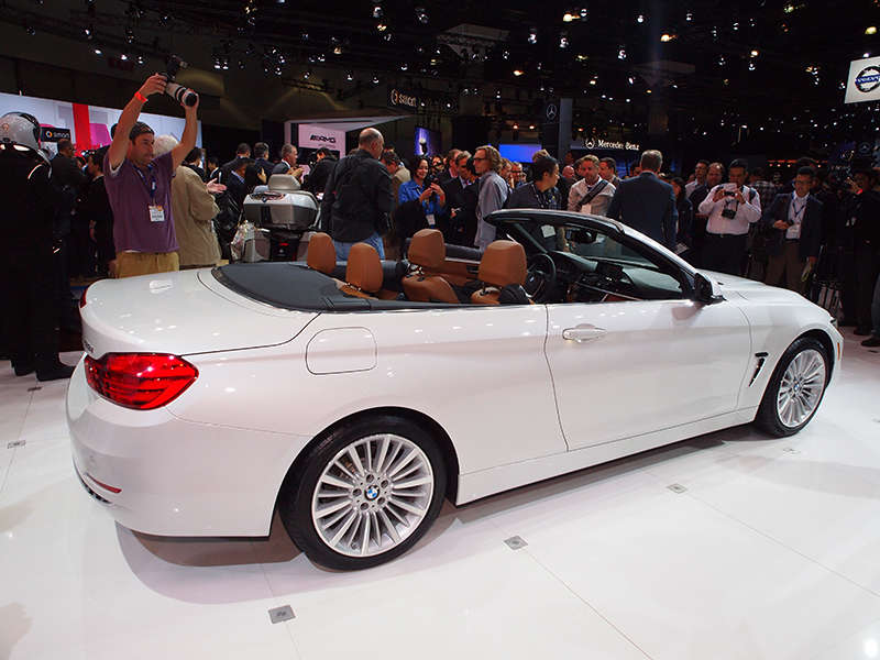 BMW Series Convertible Preview Los Angeles Auto Show - 2013 bmw 4 series convertible