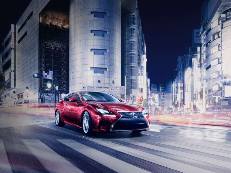 Tokyo Motor Show: Lexus Jumps Back Into The Coupe Fray With The 2015 RC
