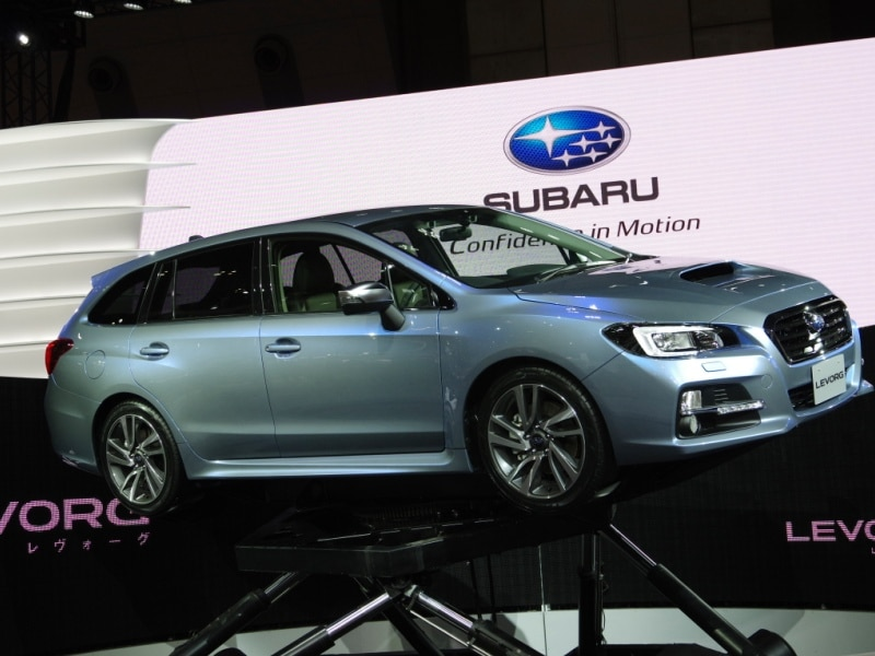 Tokyo Motor Show: Subaru Tangos With Two Wagon Concepts