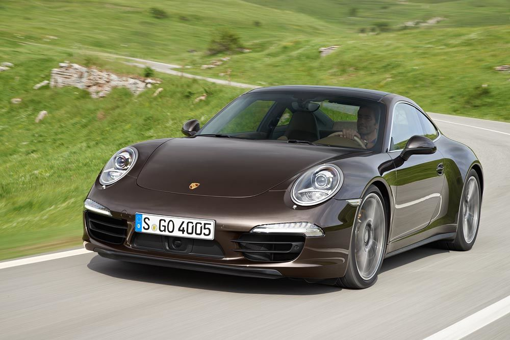 the 2014 porsche 911 provides coupe and convertible styling