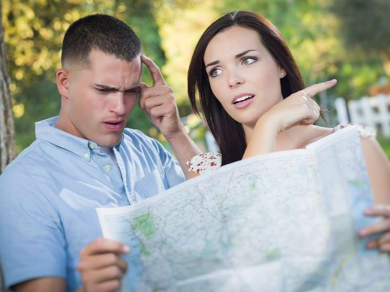 Ten Things Not To Do In A Car On A First Date: Get Lost