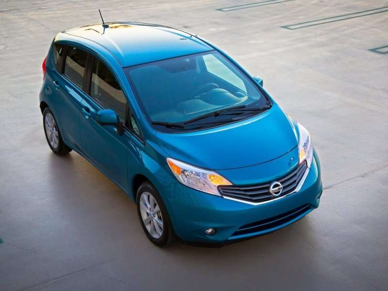2014 Nissan Versa Note Helps Set New World Record