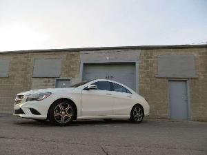 2014 Mercedes-Benz Luxury Compact Sedan CLA250 Road Test and Review