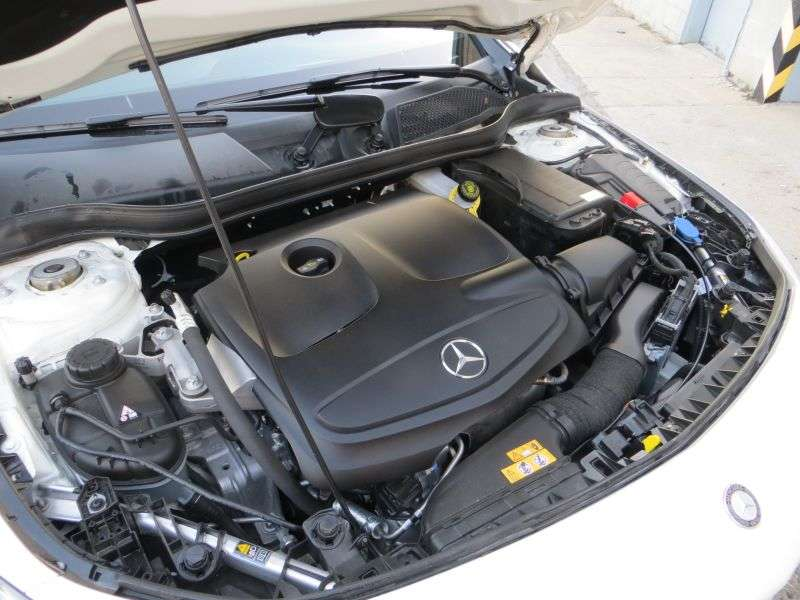 2014 Mercedes-Benz Luxury Compact Sedan CLA250 Road Test and