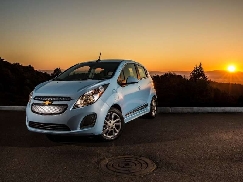 2014 Chevy Spark EV autobytel 2014 alt fuel car of the year bmw i3 autobytel com 2014 Chevy Spark Interior at crackthecode.co
