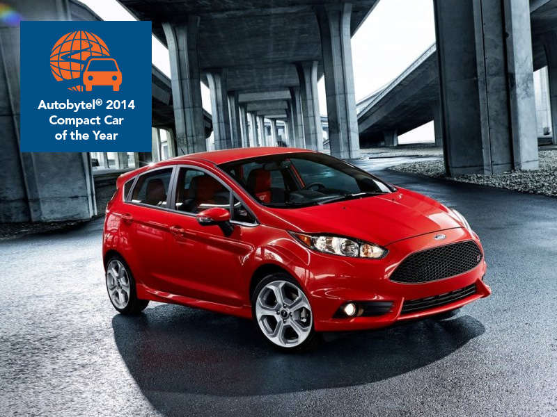 autobytel 2014 compact car of the year ford fiesta st. Black Bedroom Furniture Sets. Home Design Ideas