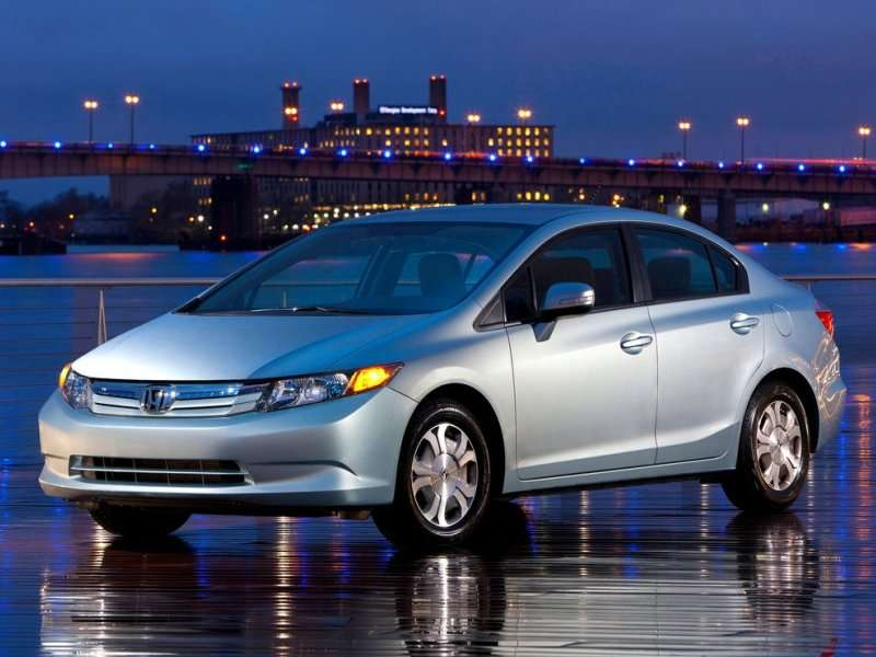 10 Compact Cars With The Best Gas Mileage   01   2013 Honda Civic Hybrid