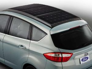 Ford Welcomes The Sun With The C-Max Solar Energi Concept