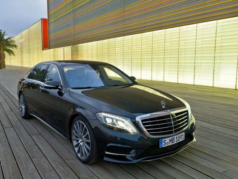 The 2014 Mercedes Benz S Class Is A Glimpse Of The Future