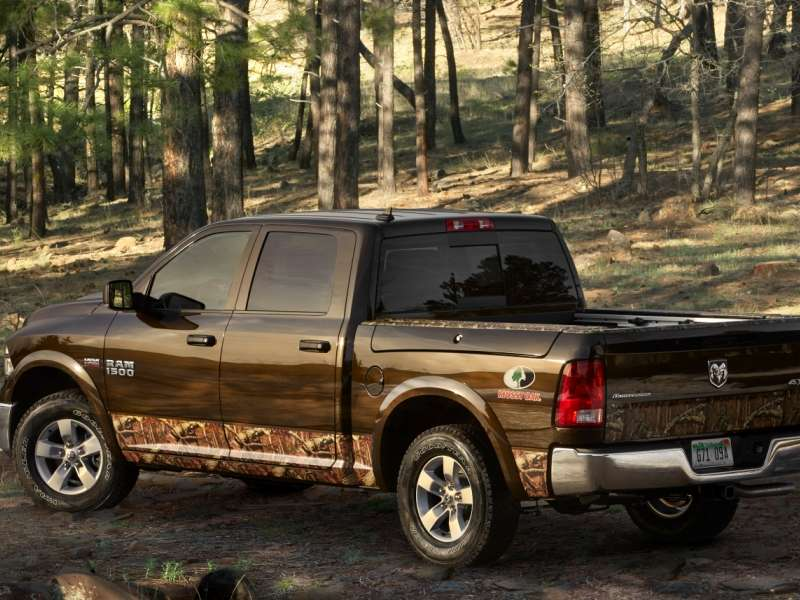 2014 Ram 1500: Mossy Oak Edition Makes Its Return