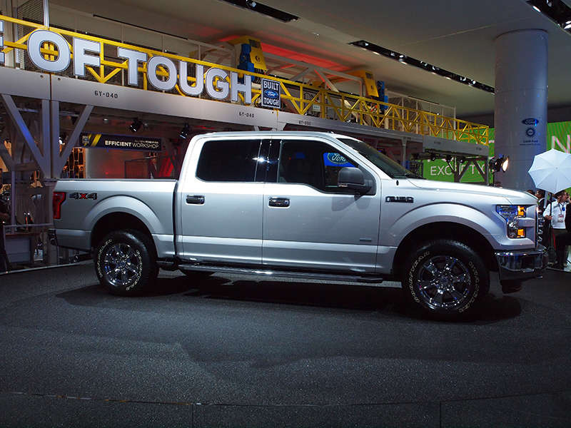 2015 Ford F-150 Preview: 2014 North American International Auto Show