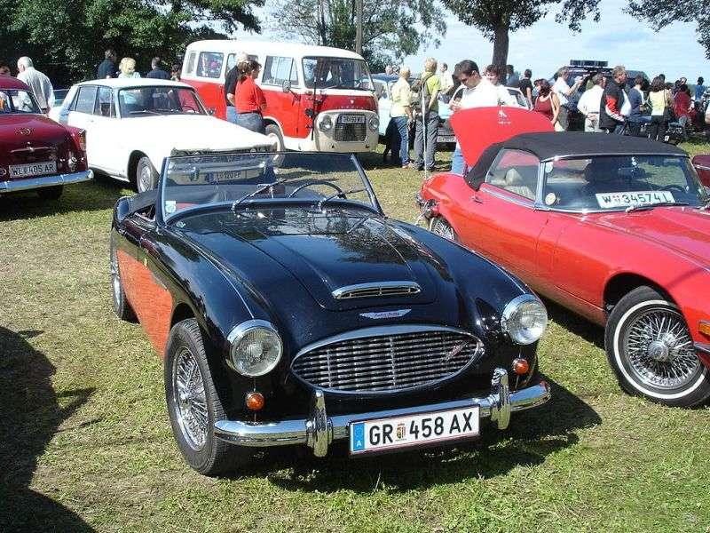 The Ten Best Classic British Sports Cars: Austin Healey 3000