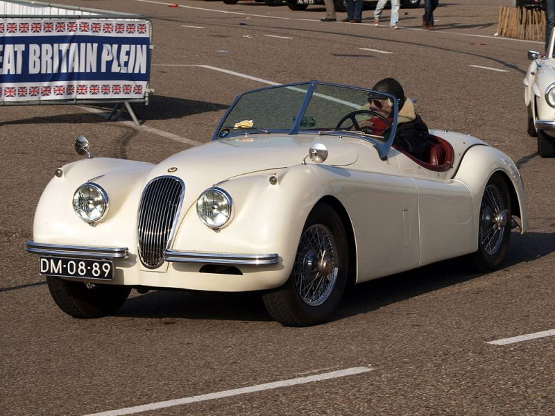The Ten Best Classic British Sports Cars: Jaguar XK 120
