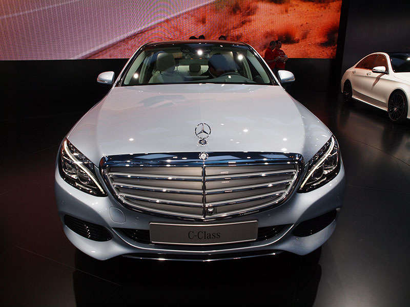 2015 Mercedes-Benz C-Class Preview: 2014 Detroit Auto Show