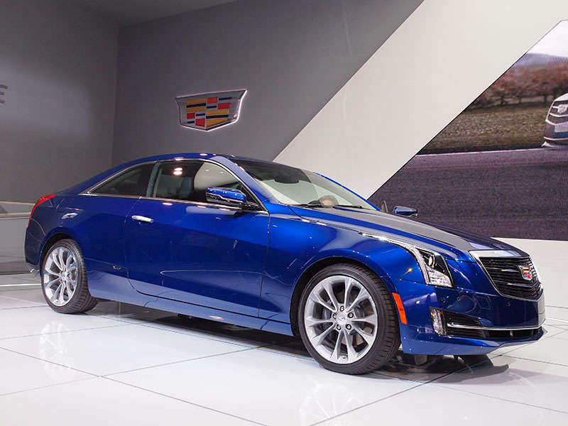 2015 Cadillac ATS Coupe Preview: 2014 Detroit Auto Show