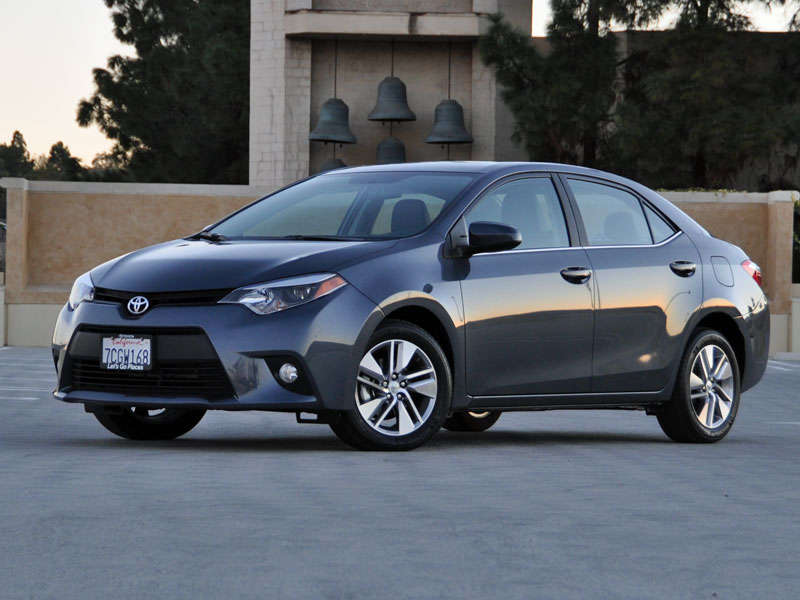 2014 Toyota Corolla LE Eco Review And Quick Spin: Styling And Design