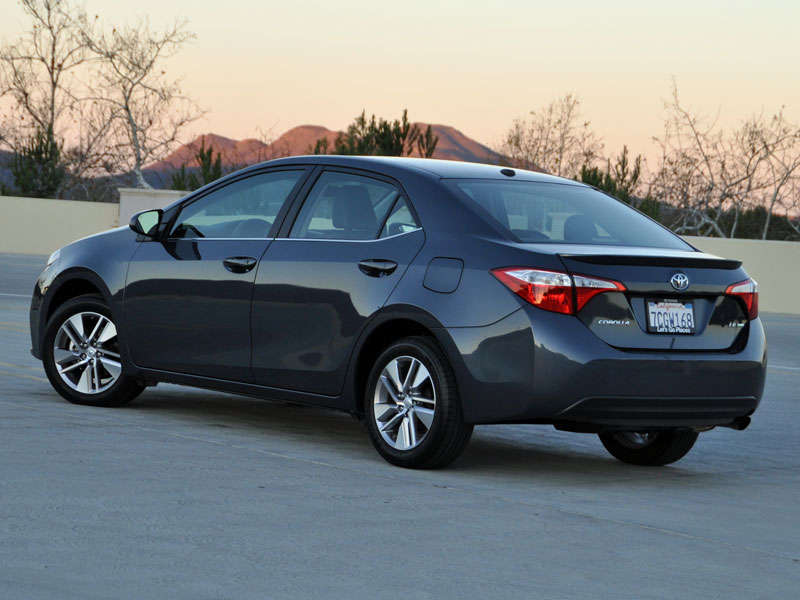 2014 Toyota Corolla LE Eco Review And Quick Spin: About Our Test Car