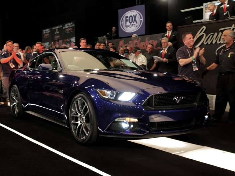 First 2015 Ford Mustang GT Hits The Auction Block