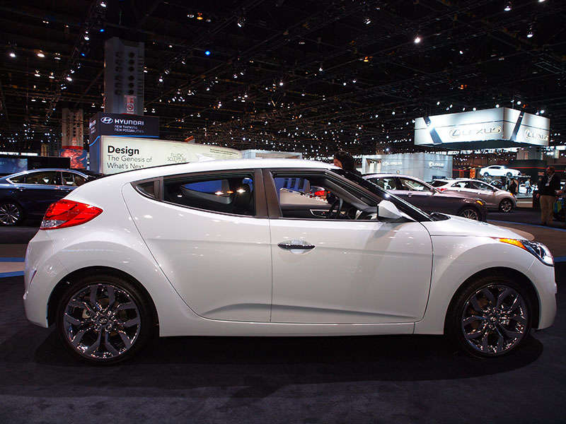 2014 Hyundai Veloster RE:FLEX: 2014 Chicago Auto Show