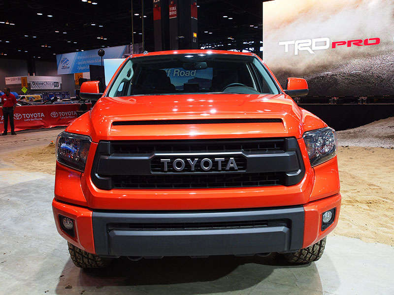 trd pro series toyota tundra tacoma and 4runner preview 2014 chicago auto show. Black Bedroom Furniture Sets. Home Design Ideas