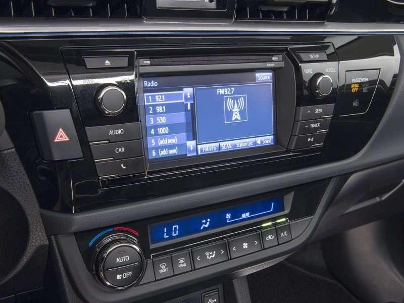 Toyota Corolla 2015 Interior Automatic