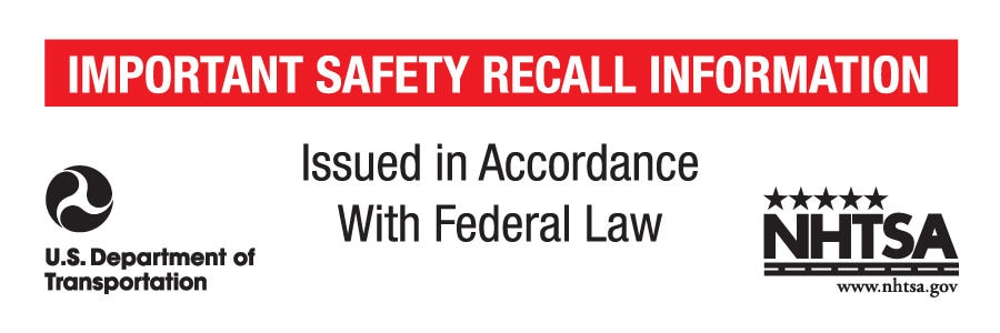 NHTSA Mandates Mailing Label For Recall Notices