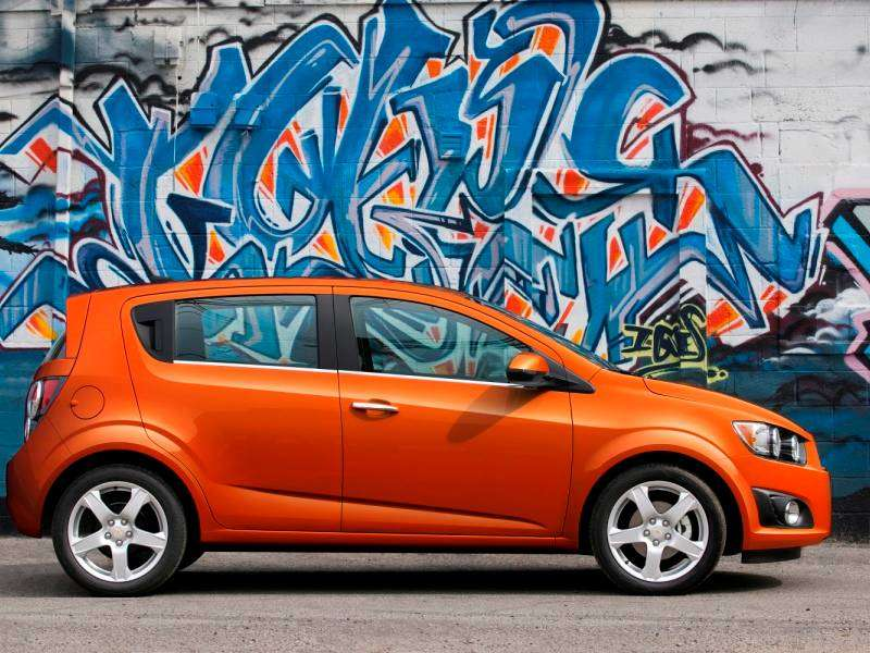 10 Best Subcompact Cars For Hauling Cargo 03 2017 Chevrolet Sonic