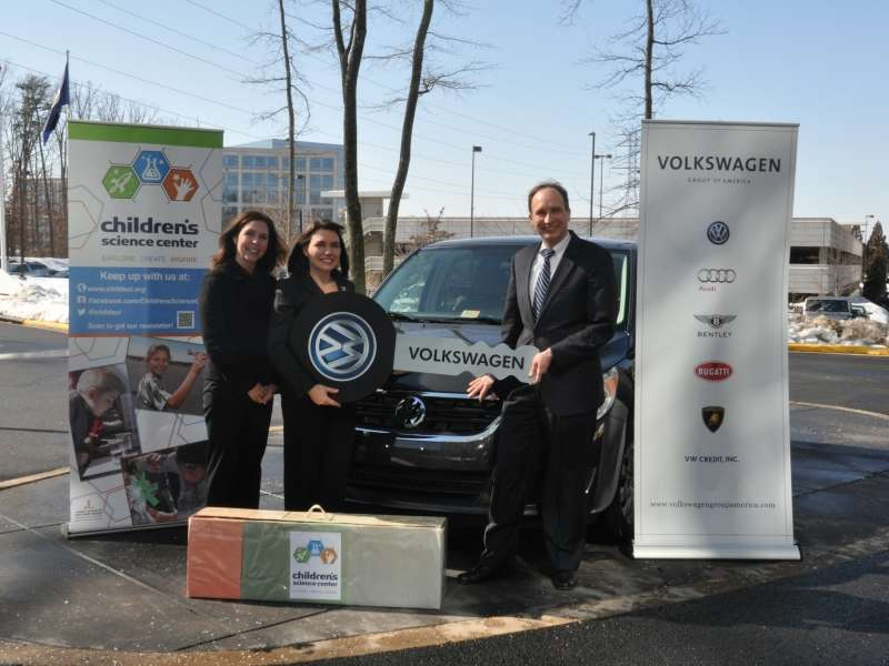 2014 VW Routan Repurposed to Support STEM Education