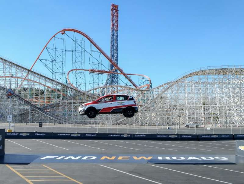 2014 Chevy Sonic Ramps up for New Record